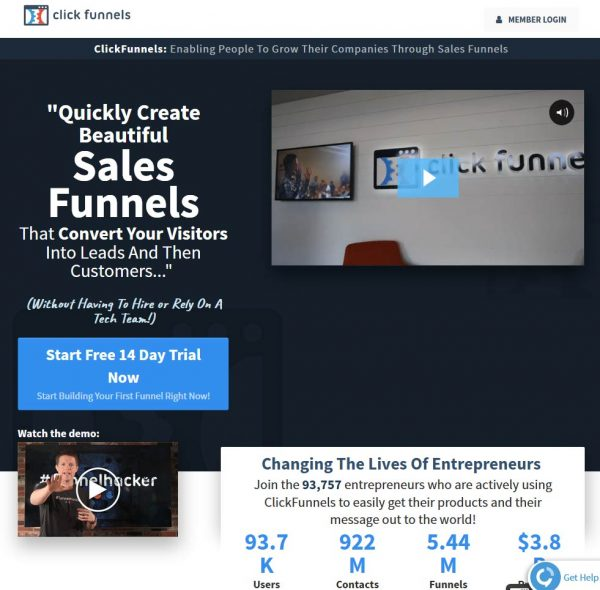 The smart Trick of Who Started Clickfunnels That Nobody is Talking About