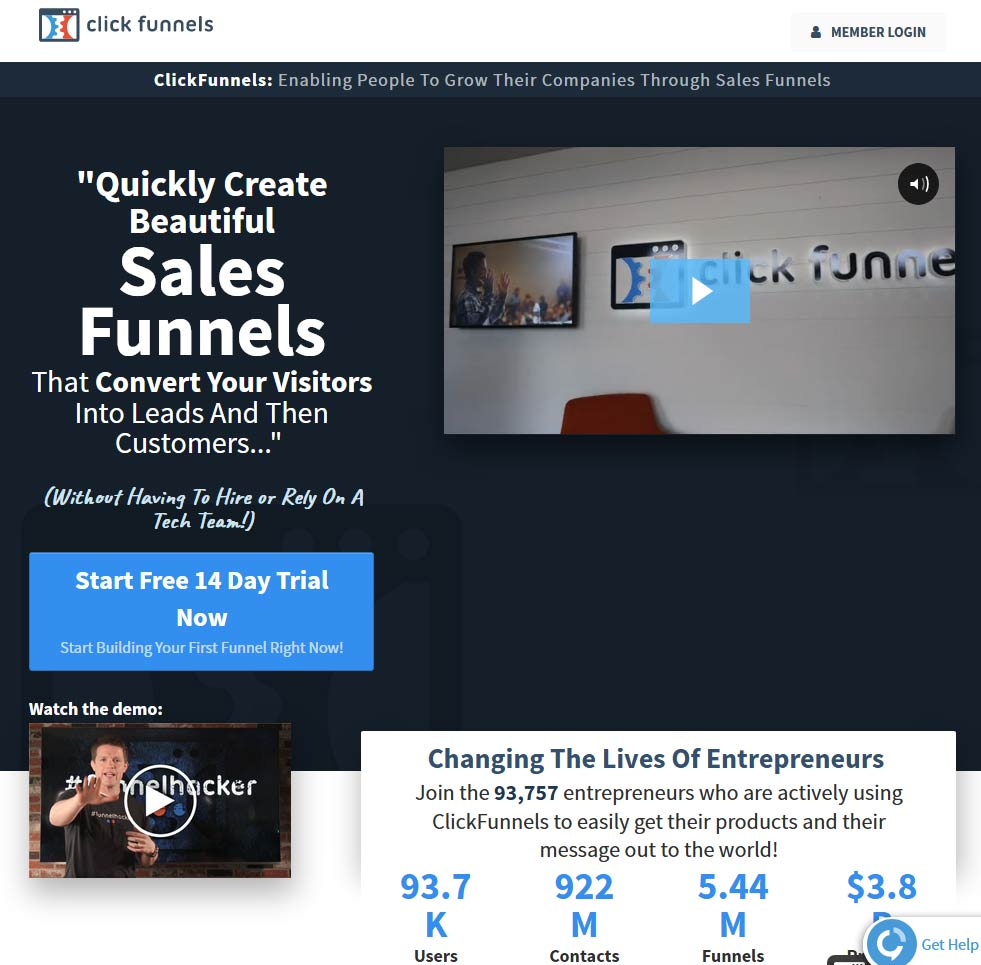 How To Send Someone A 14 Day Trial Of Clickfunnels